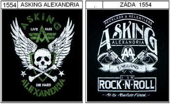 Asking Alexandria - triko