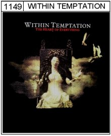 Within Temptation - mikina s kapucí