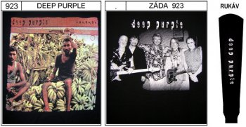 Deep Purple - mikina bez kapuce
