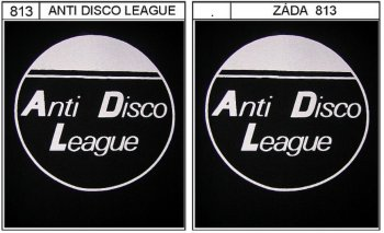 Anti Disco League - triko