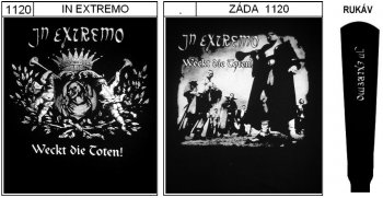 In Extremo - mikina s kapucí