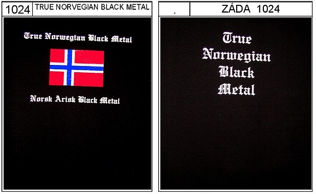 True Norwegian black metal - triko