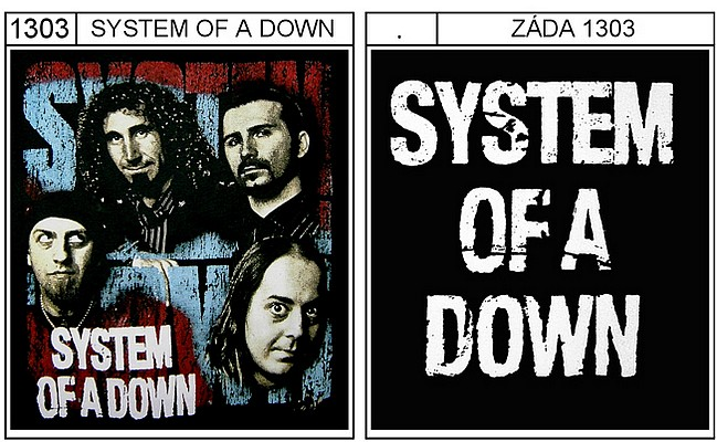 System Of A Down - triko