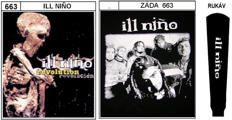 Ill Nino - mikina s kapucí - M0663 8beba65b201